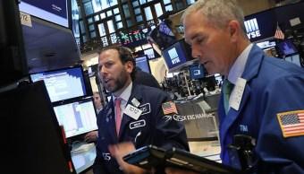 Wall Street Cierra Triple Record Principales Indicadores