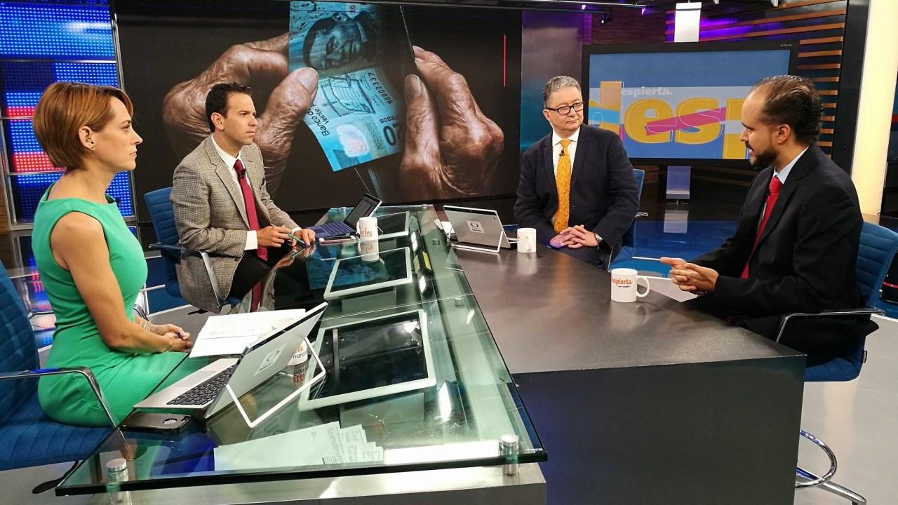 Carlos Ramírez, presidente de Consar, en la mesa de Despierta con Loret