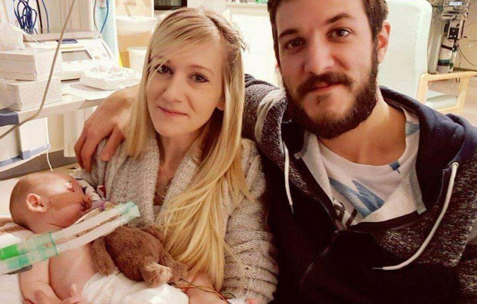 bebé, bebé británico, Charlie Gard, enfermedad genética rara, enfermedad mortal