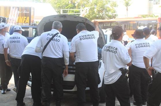 Más de 387 elementos policiacos y 80 vehículos de distintas corporaciones de seguridad en el operativo Conago (Notimex)