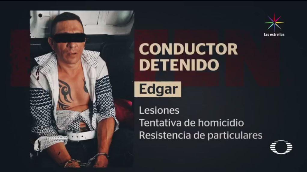 Policía de Tránsito, CDMX, Metrobús, Audi rojo, antecedentes penales, tentativa, homicidio