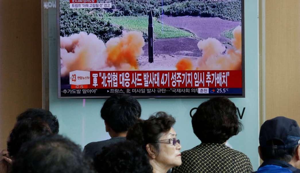 Corea Norte lanzamiento segundo misil intercontinental