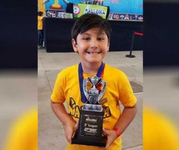 Gana tampiqueño de 6 años concurso mundial de cálculo