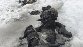 Cuerpos congelados hallados en un glaciar en Suiza