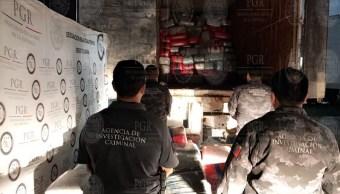 La PGR decomisa toneladas de marihuana en Tijuana
