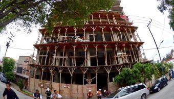 demoición ,construcción edificio, ciudad de méxico, pisos excedentes