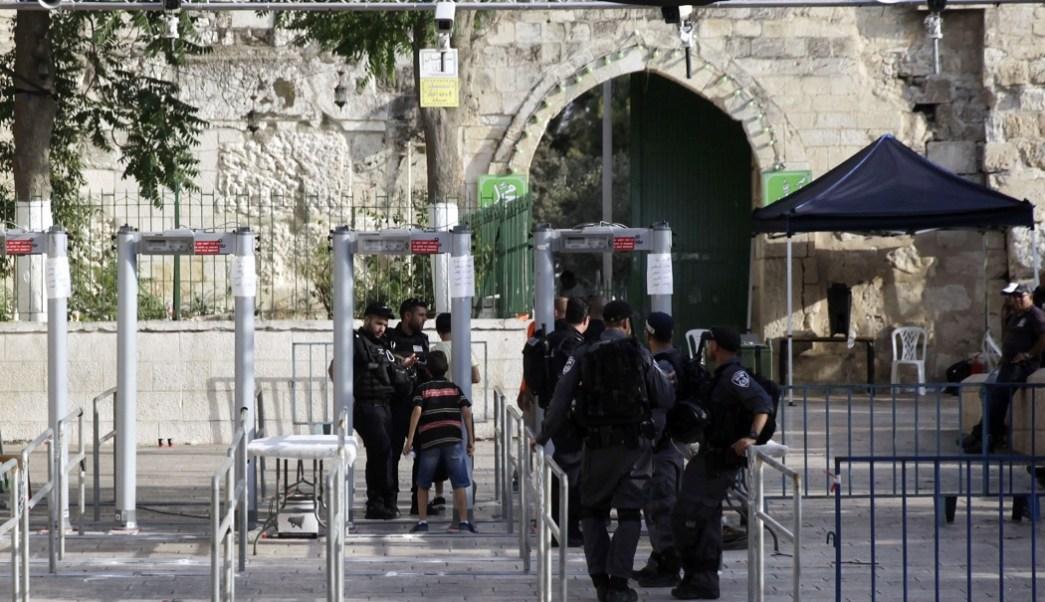 Mezquita, seguridad, Israel, detectores de metal, religión,