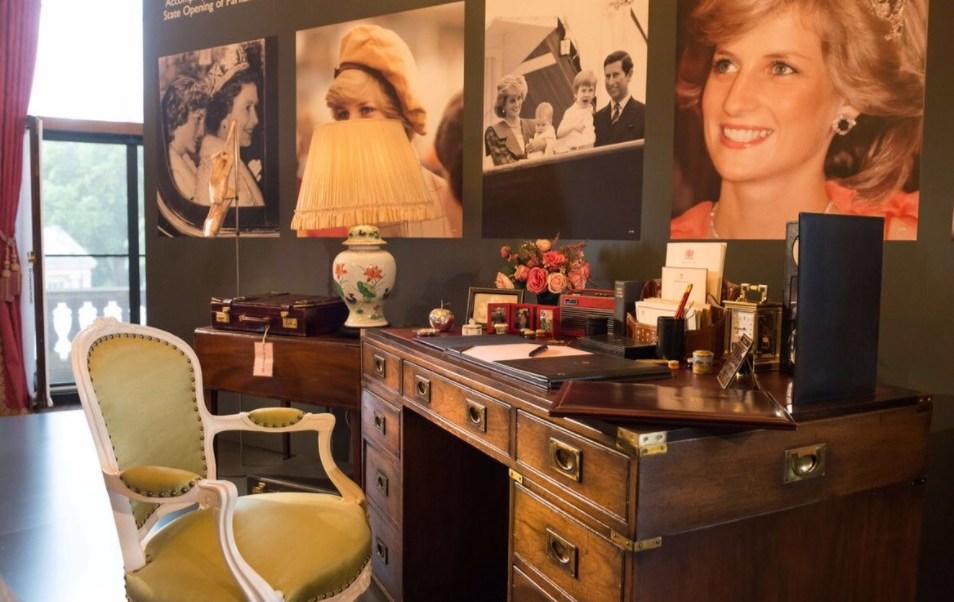 Realizan, Exhibicion, Especial, Palacio de Buckingham, Diana de Gales
