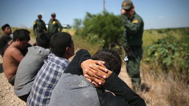 Migrantes, Texas, frontera, camión, delitos, seguridad,