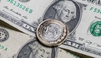 El dólar estadounidense cierra con ganancia. (Notimex)