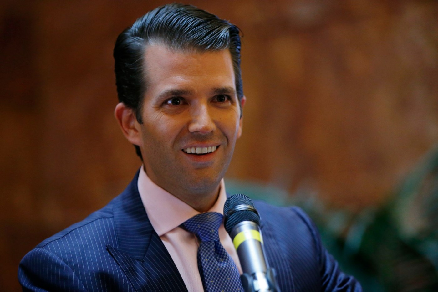 Donald Trump Jr. el hijo mayor de mandatario