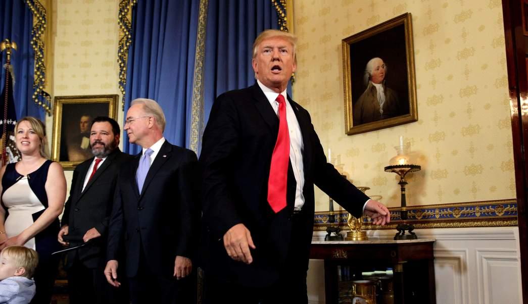Trump calla reportera Casa Blanca Estados Unidos presidente