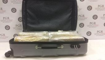 Aseguran Marihuana Maleta Nl Seguridad Narcotrafico