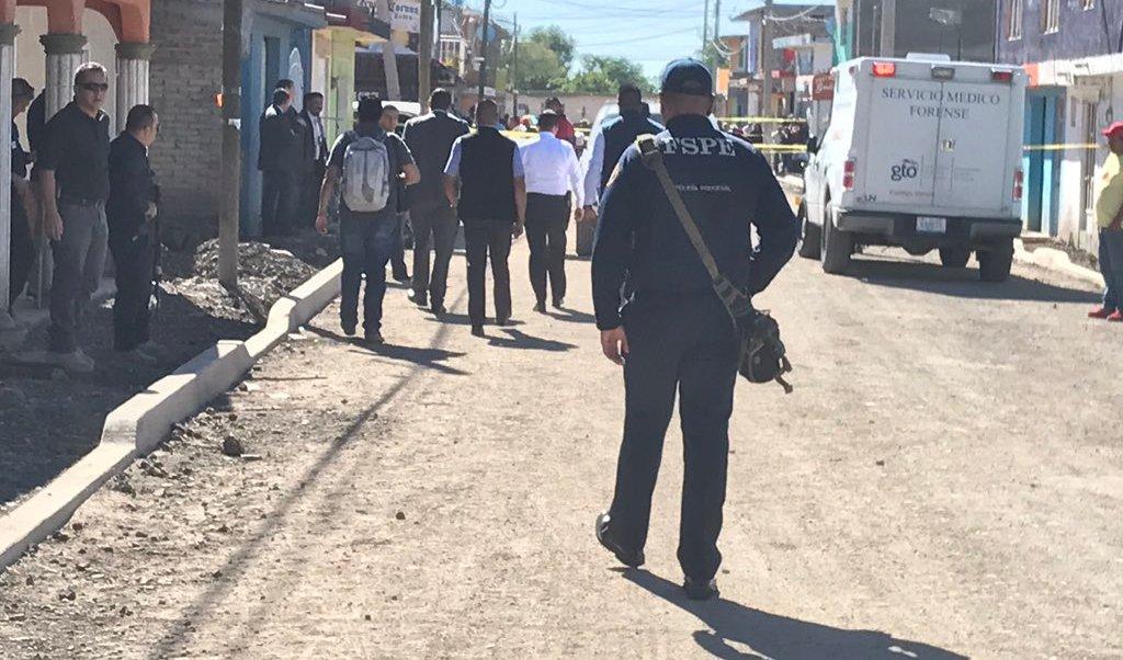 Ejecutan al director de la Policía en Celaya