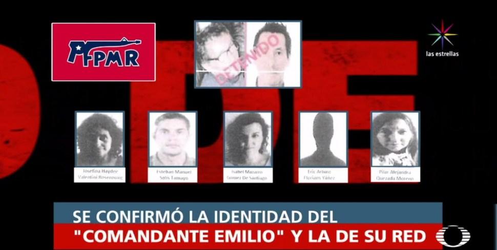 El comandante Emilio, de guerrillero chileno a líder de secuestradores en México