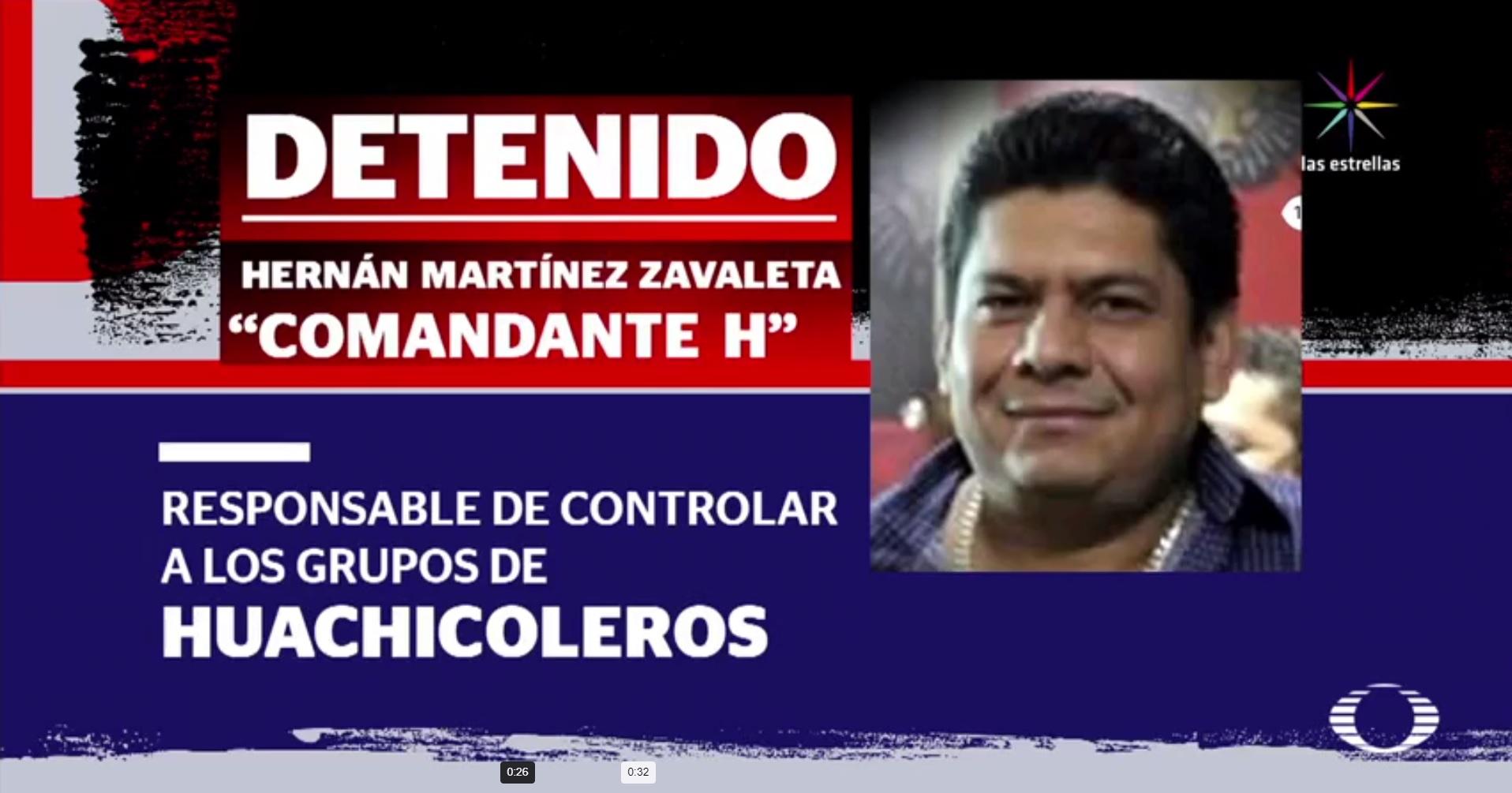 Cae 'El Comandante H', presunto homicida de familia en Coatzacoalcos