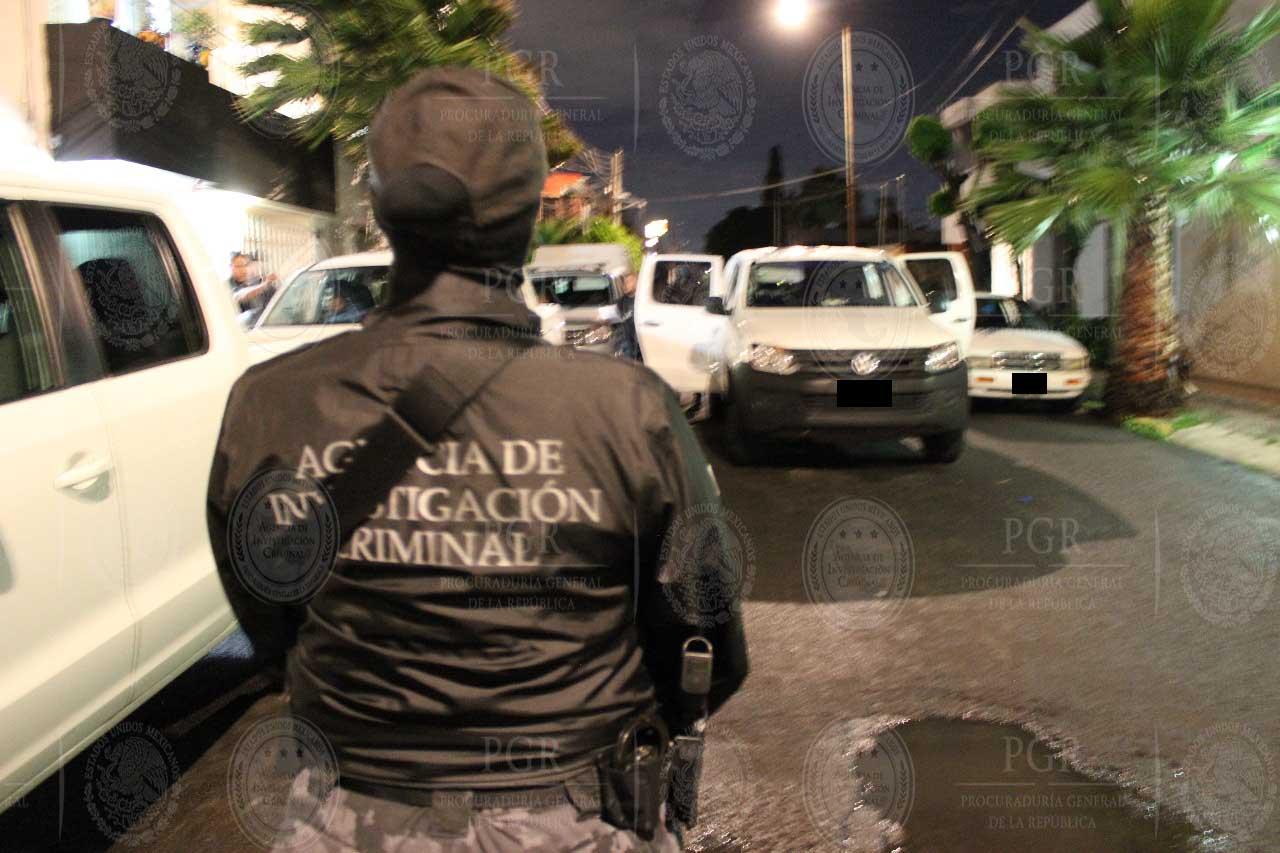 Elemento de la Agencia de Investigación Criminal en operativo ROCA en Puebla