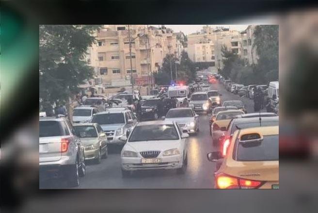 Tiroteo en la Embajada israelí en Amán deja dos heridos