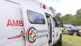 Rescatan a familia en Cuajimalpa. (FOROtv)