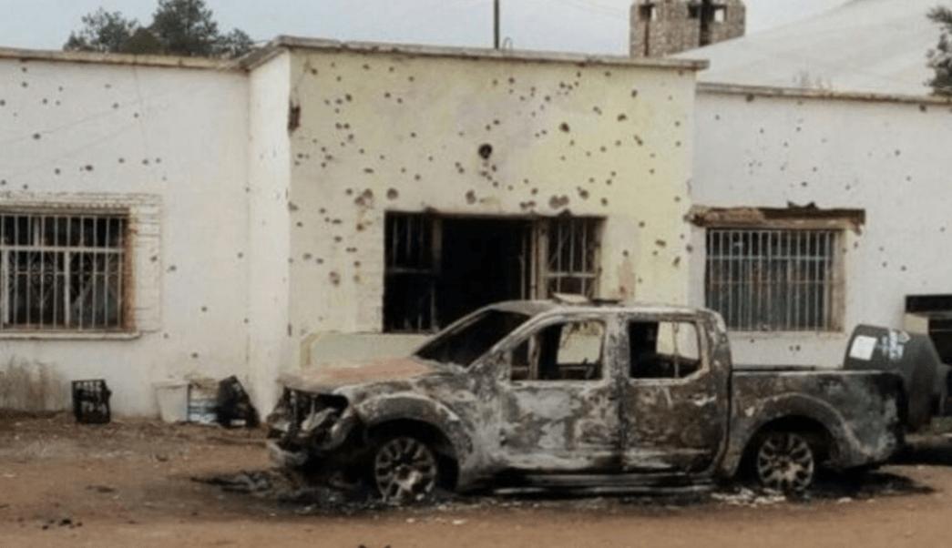 Enfrentamiento, Las Varas, Chihuahua, 26 muertos.