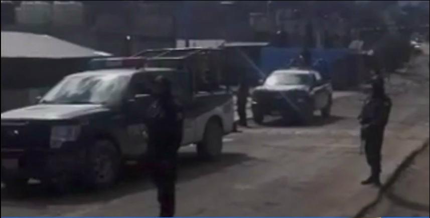 Fuerzas federales realizan un operativo tras enfrentamiento en puebla
