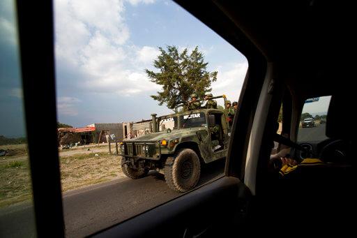 Operativos, Ejercito mexicano, Seguridad, Enfrentamiento, Palmarito, Puebla