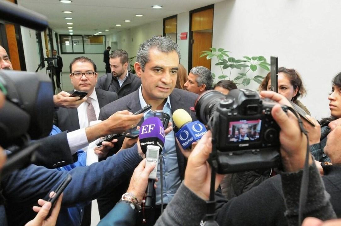 Enrique Ochoa en Coahuila. (Twitter Enrique Ochoa)