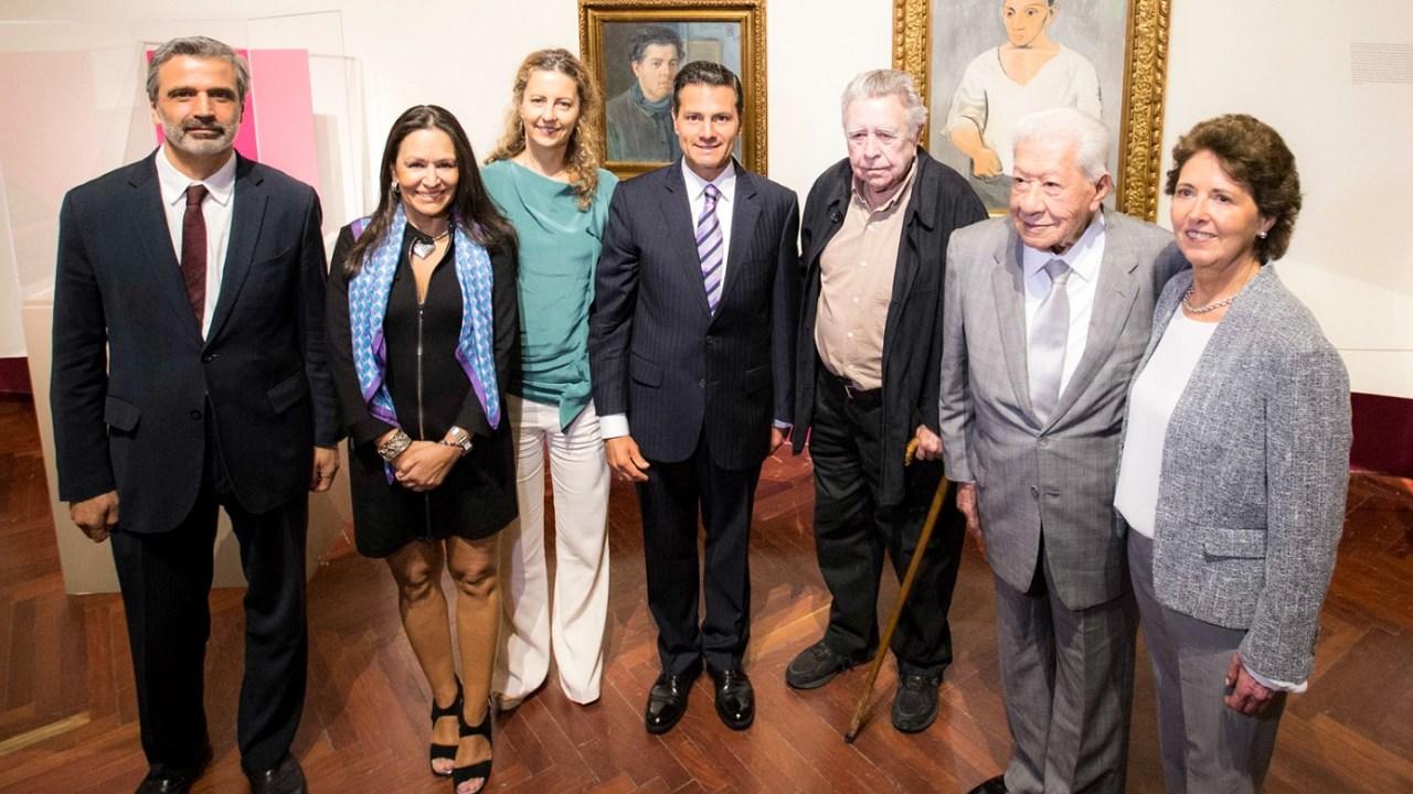 Peña Nieto Picasso Rivera Bellas Artes