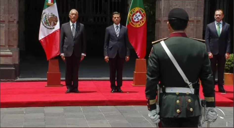 México y Portugal acuerdan impulsar intercambio comercial