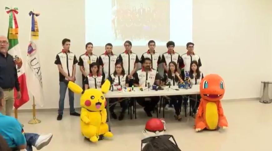 Estudiantes de NL competirán en Japón con pokemones