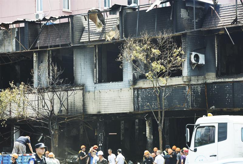 Explosión en tienda deja dos muertos en ciudad oriental de China — AMPLIACION