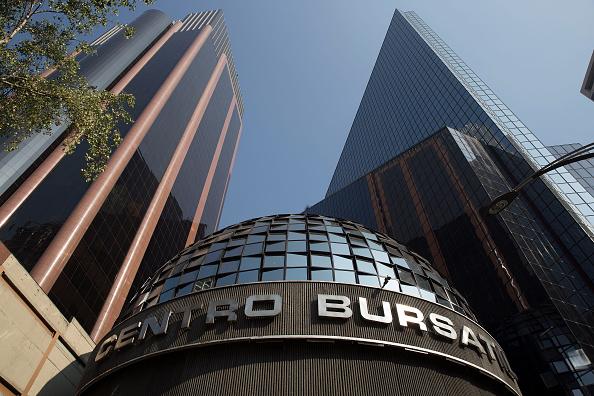 Fachada de la BMV, ubicada en Ciudad de México