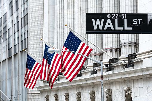 Fachada del edificio de la Bolsa de Nueva York
