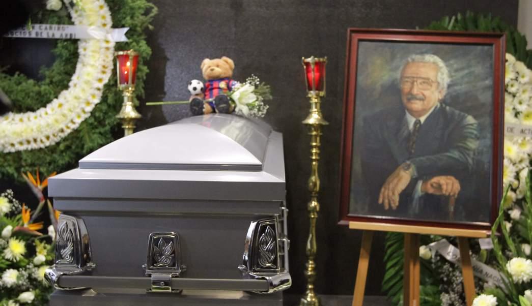 Funeral del actor Luis Gimeno en la CDMX