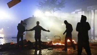 Desórdenes ocurridos durante la cumbre del G20 en Hamburgo (Reuters)