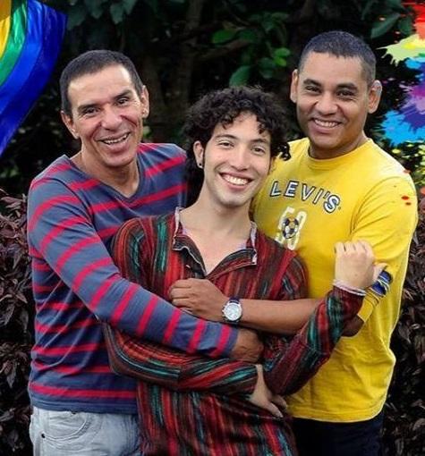 Alejandro Rodríguez, Manuel Bermúdez y Víctor Hugo Prada planean una ceremonia (Foto: Facebook Victor Hugo Prada Ardila - Vichu Prada)