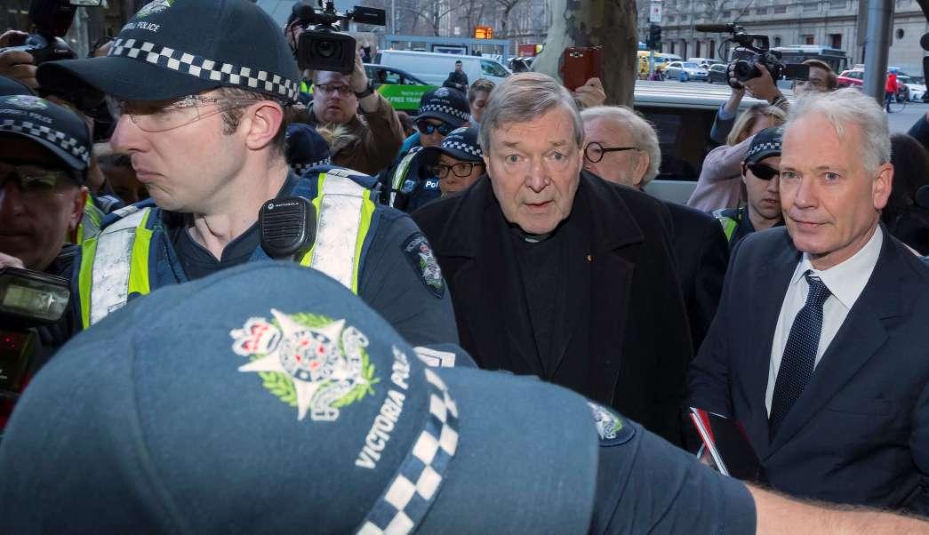 Cardenal George Pell Acusado Abuso Sexual Comparece Australia