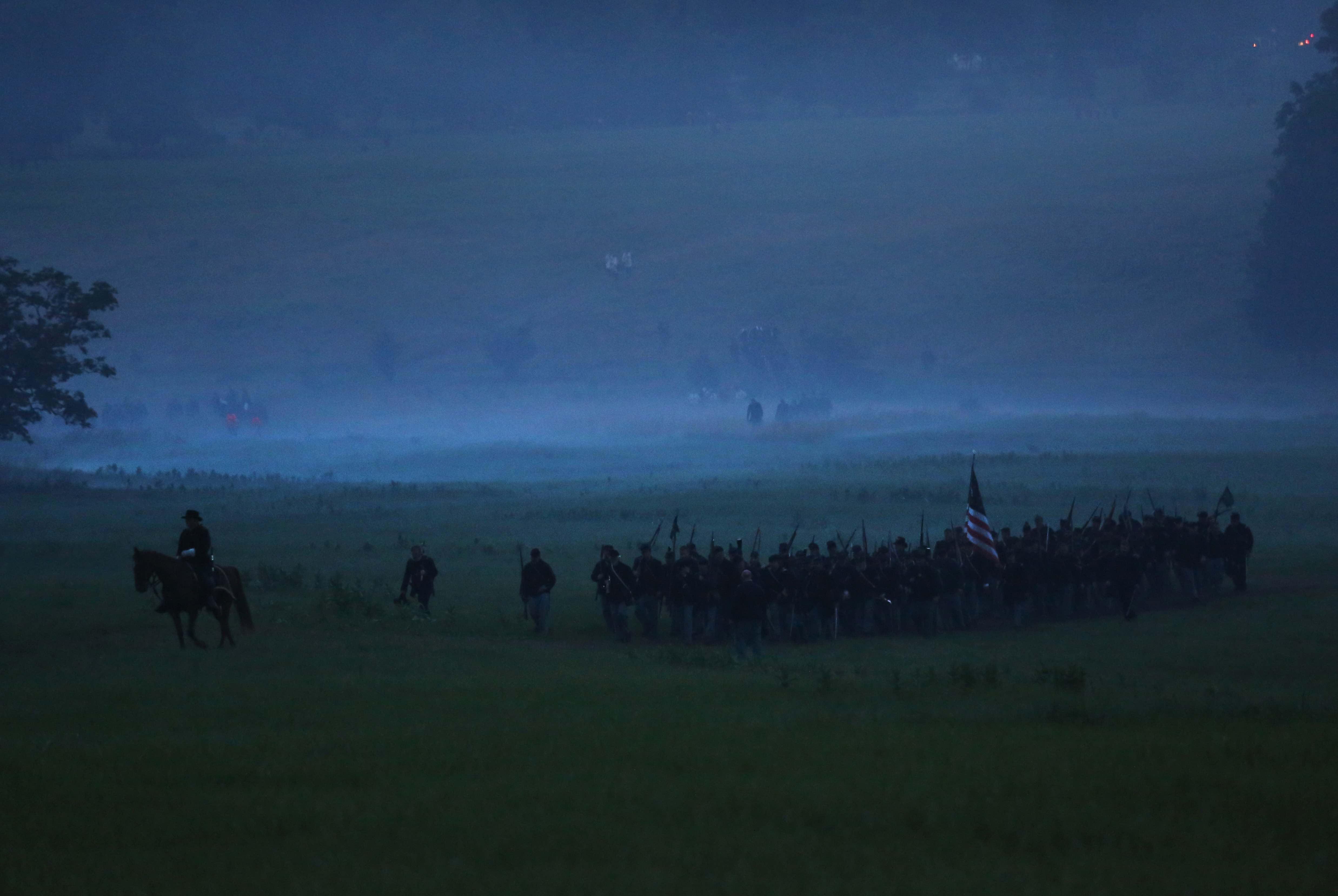 Batalla de Gettysburg abolición esclavitud Estados Unidos