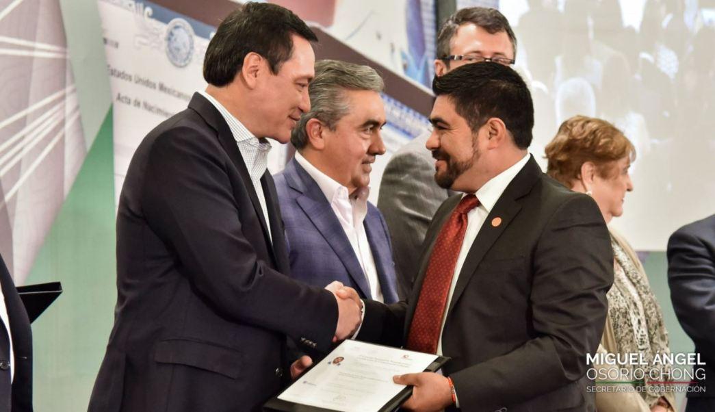 Segob Identidad Mexicanos Documentos Gobernación Osorio