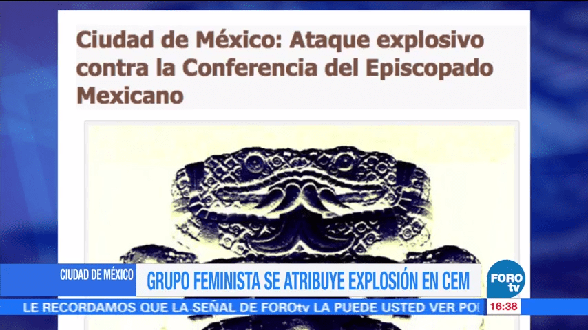 Grupo Feminista Explosion CEM Autoría Episcopado