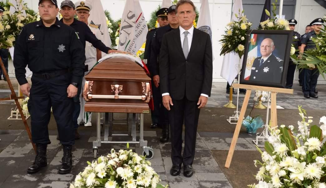 Policía Federal PF, Veraruz, Homenaje a mando caído