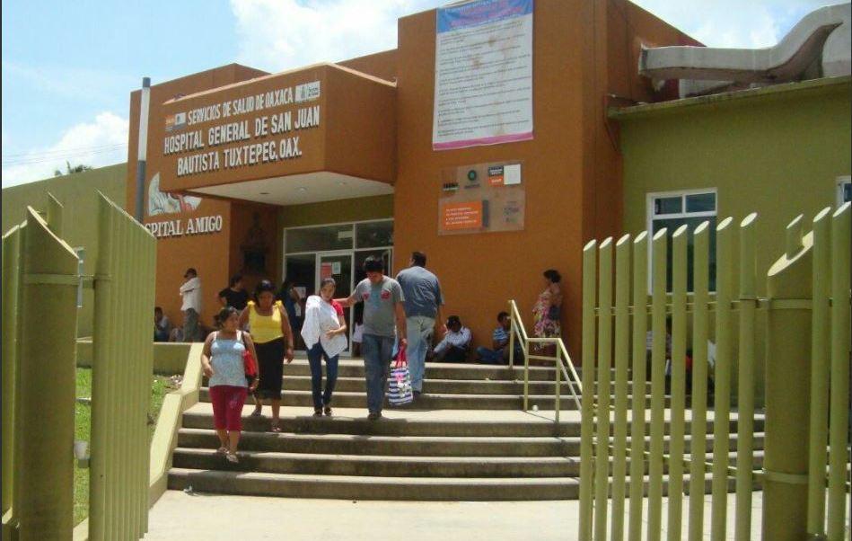 Hospital de Tuxtepec atencio a mujer embarazada