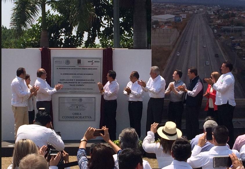 Libramiento, Inauguracion, Paso Expres, Cuernavaca, Morelos
