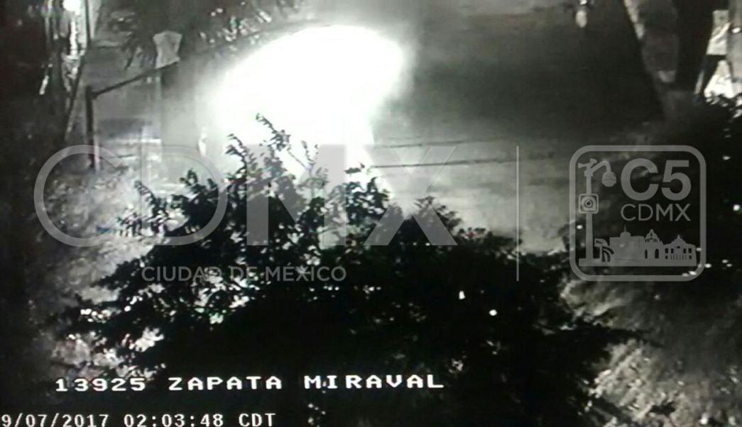 Colonia Miravalle, Benito Juarez, Bomberos, Incendio, Vehiculo, Delegacion, C5