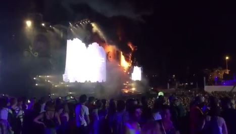 Cancelan Tomorrowland Barcelona por incendio