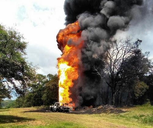 Incendio, Toma Clandestina, Hidalgo, Sehuridad, Huachicoleros