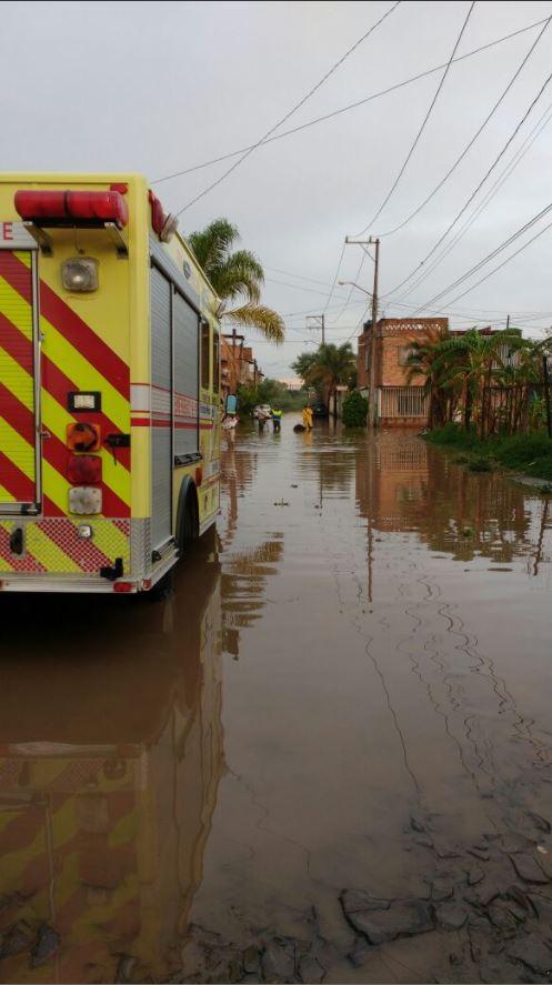 lluvia provoca inundaciones en tlaquepaque
