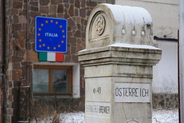Frontera entre Italia y Austria (Getty Images)