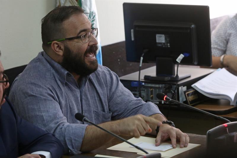 Javier Duarte, Guatemala, extraditado, México, Veracruz, Delincuencia organizada, Penal máxima seguridad