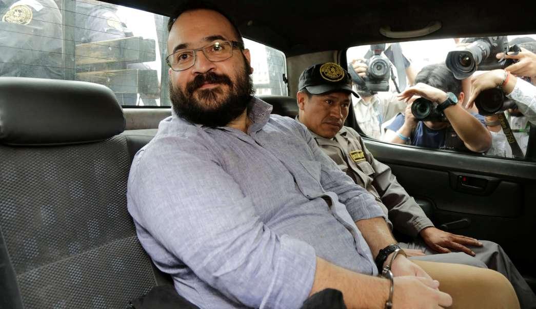 Javier Duarte, exgobernador de Veracruz, detenido en Guatemala